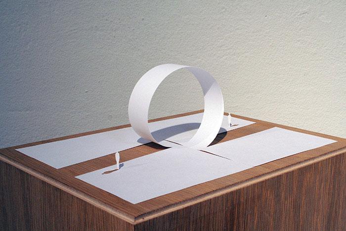 20 esculturas de papel A4 cortado e dobrado 06