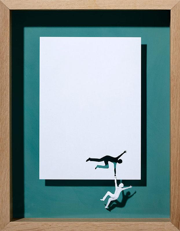 20 esculturas de papel A4 cortado e dobrado 11