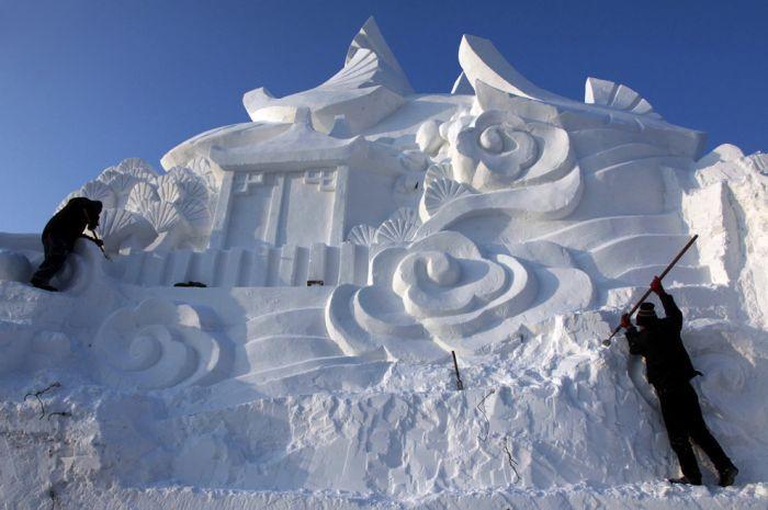 Festival Internacional do Gelo de Harbin 2011 16