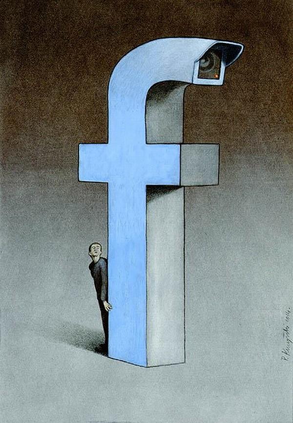 Outras incômodas ilustrações de Pawel Kuczynski mostram o que há de errado com a sociedade atual 51
