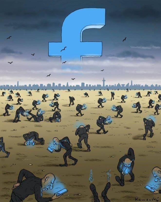 Outras incômodas ilustrações de Pawel Kuczynski mostram o que há de errado com a sociedade atual 53