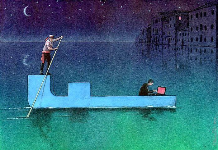 Outras incômodas ilustrações de Pawel Kuczynski mostram o que há de errado com a sociedade atual 57
