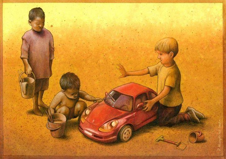 Outras incômodas ilustrações de Pawel Kuczynski mostram o que há de errado com a sociedade atual 59
