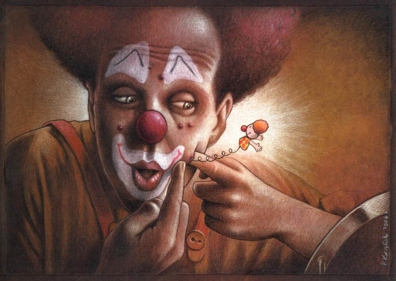 As brilhantes ilustrações de Pawel Kuczynski 08