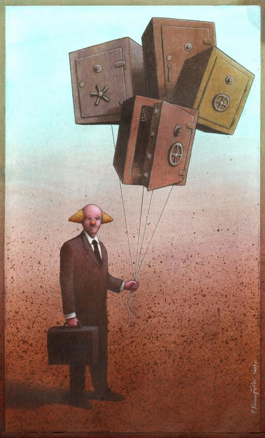 As brilhantes ilustrações de Pawel Kuczynski 09