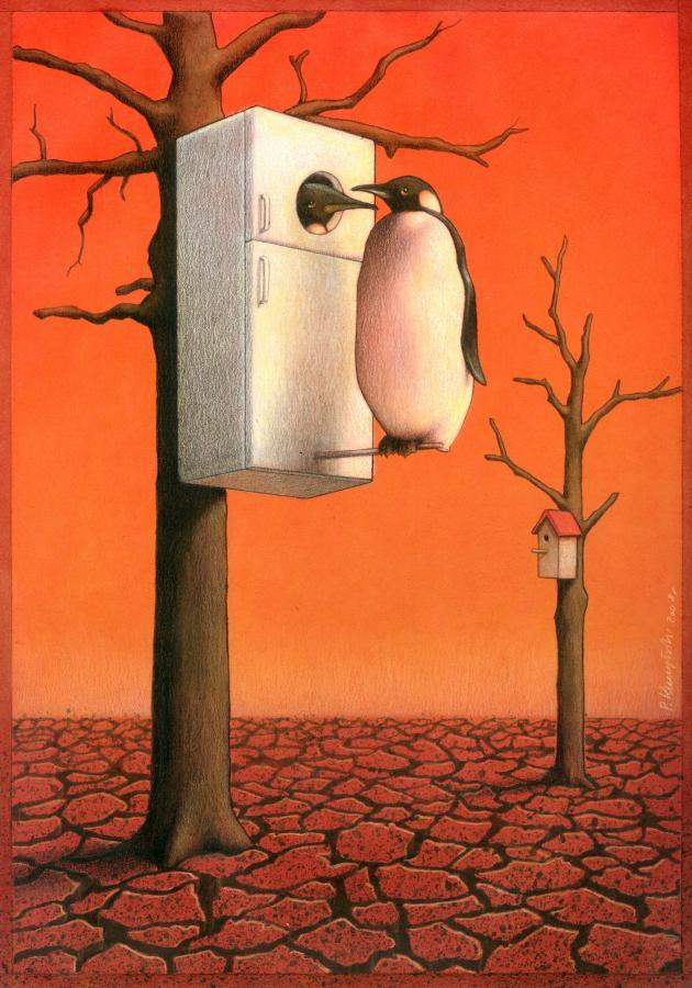 As brilhantes ilustrações de Pawel Kuczynski 19