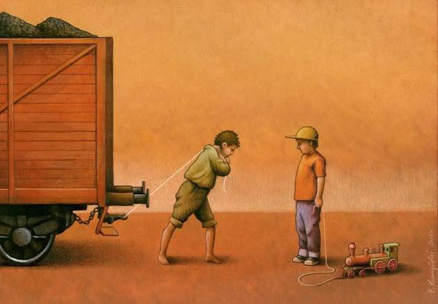 As brilhantes ilustrações de Pawel Kuczynski 34