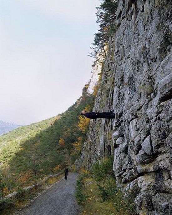 15 imagens não fotochopadas que desafiam a gravidade 10