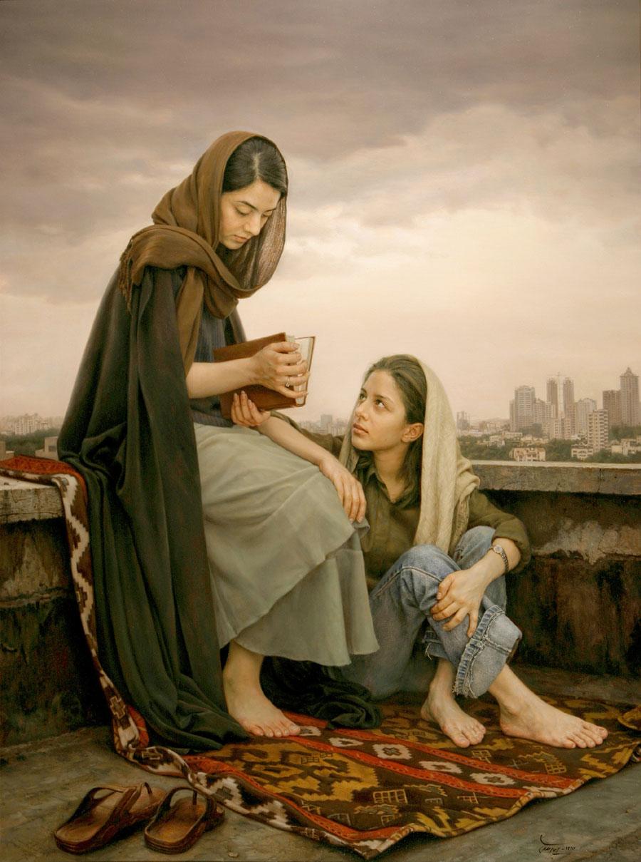 Iman Maleki - Impressionante arte 02