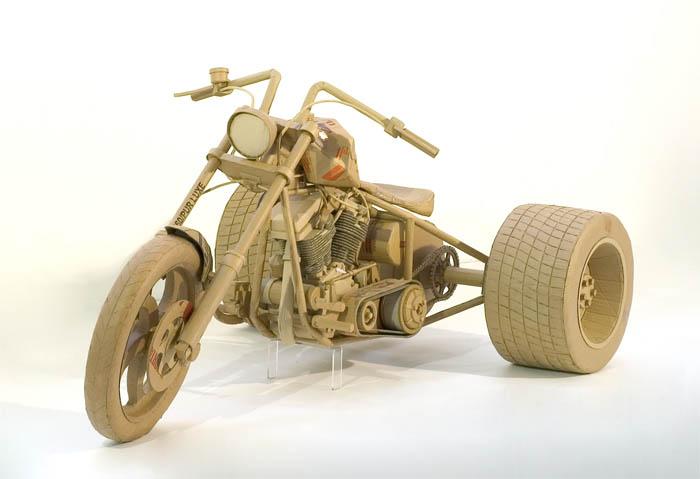 As incríveis esculturas de papelão de Chris Gilmour 16