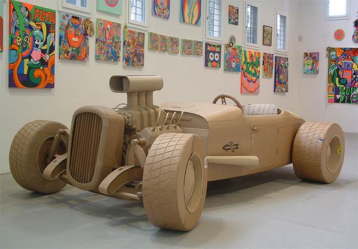 As incríveis esculturas de papelão de Chris Gilmour 17