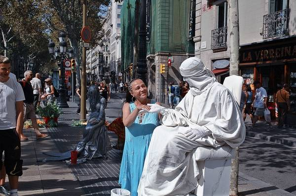 Incríveis estátuas vivas 04
