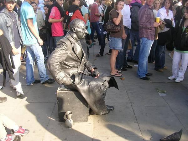 Incríveis estátuas vivas 05