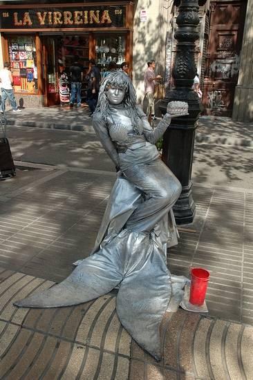 Incríveis estátuas vivas 06