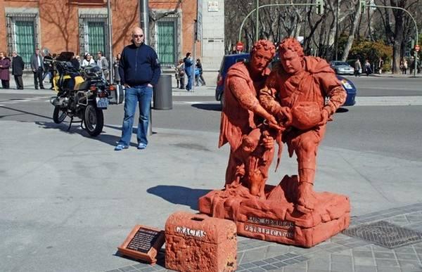 Incríveis estátuas vivas 08