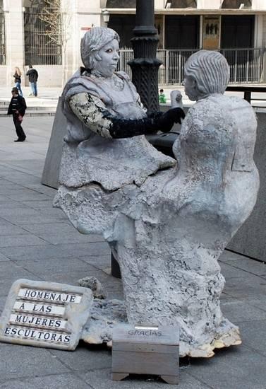 Incríveis estátuas vivas 09