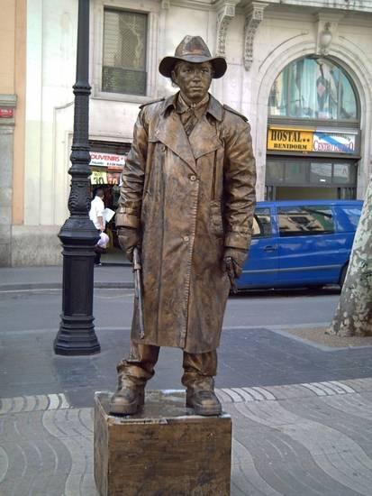 Incríveis estátuas vivas 11