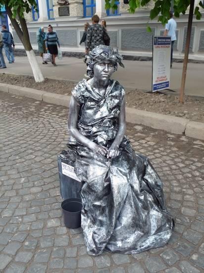 Incríveis estátuas vivas 14