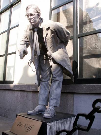 Incríveis estátuas vivas 19