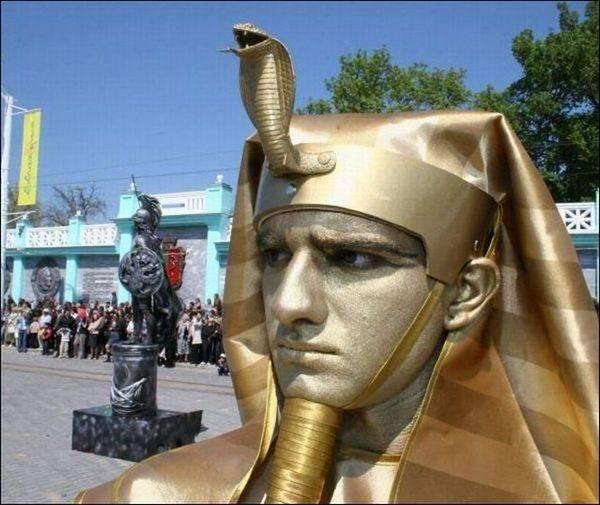 Incríveis estátuas vivas 26