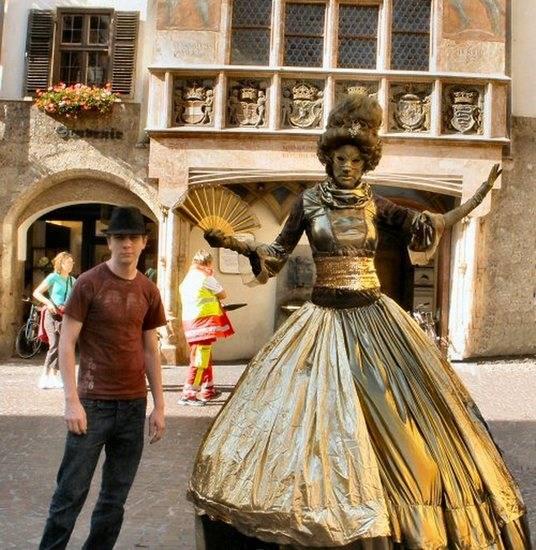 Incríveis estátuas vivas 30