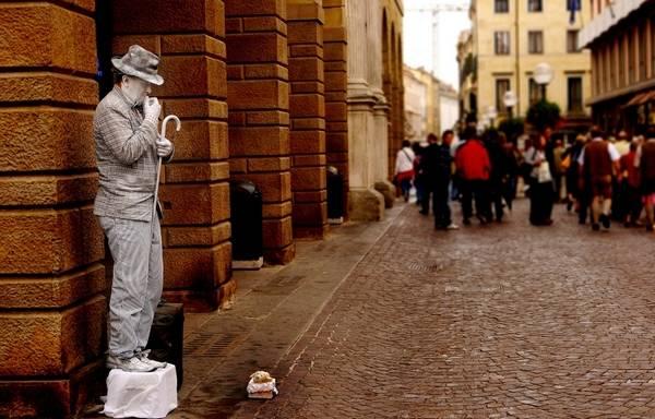 Incríveis estátuas vivas 32