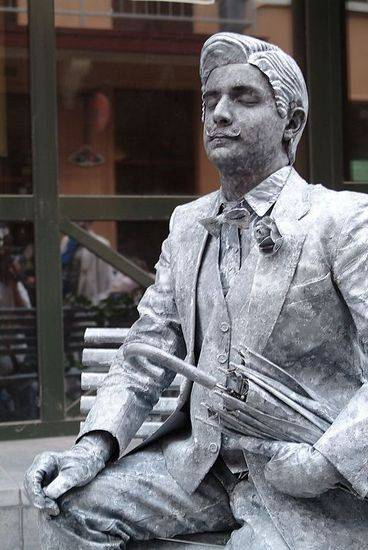 Incríveis estátuas vivas 34