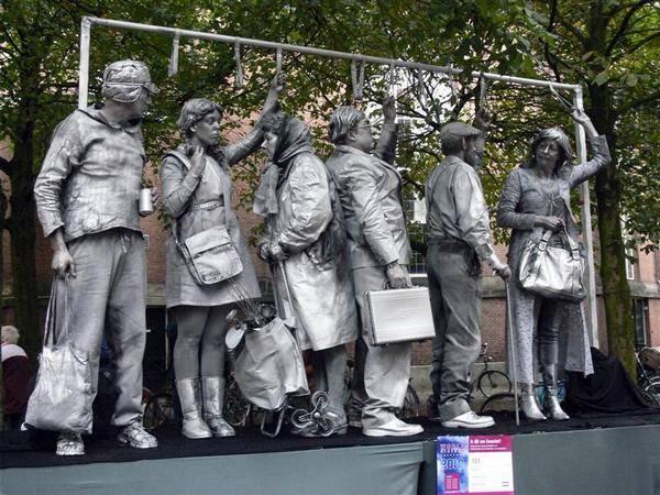 Incríveis estátuas vivas 36