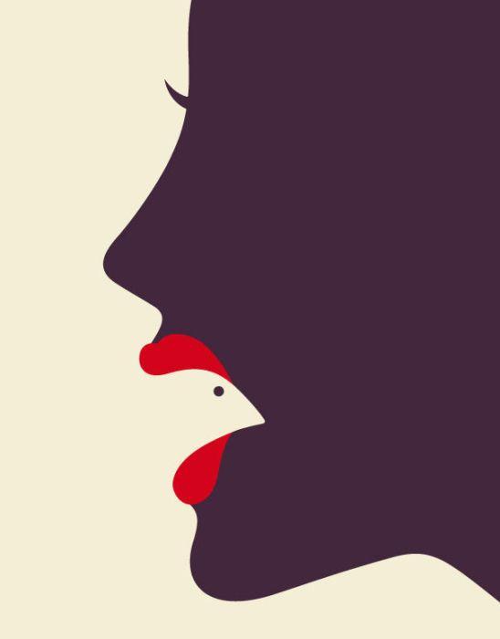 Ilustrações minimalistas incríveis 23