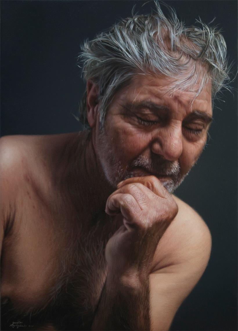 As incríveis pinturas fotorealísticas de Javier Arizabalo 03