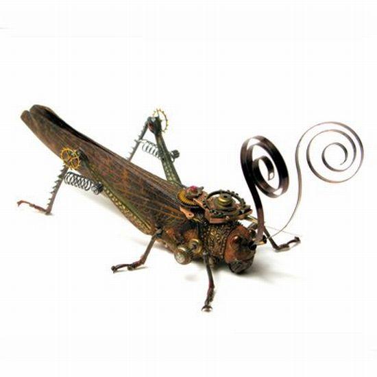 Os insetos mecânicos de Mike Libby 17