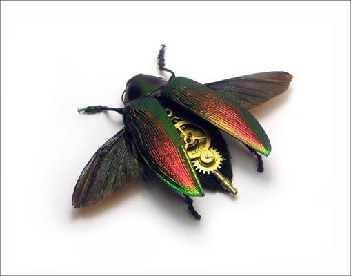 Os insetos mecânicos de Mike Libby 35
