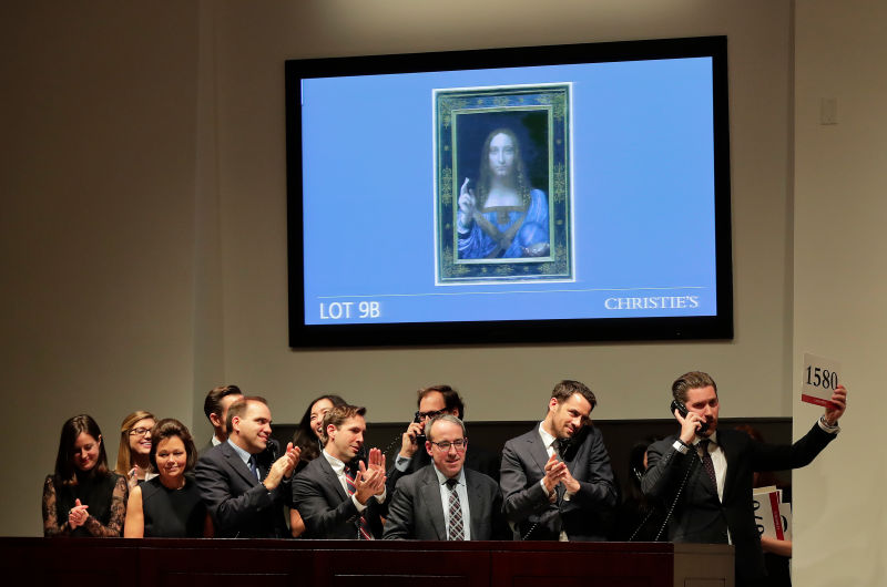 Da Vinci supera Picasso: seu Salvator Mundi é a obra de arte mais cara de todos os tempos