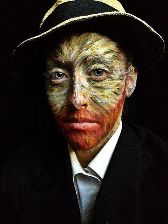 Grandes trasnformações da maquiagem artística 01