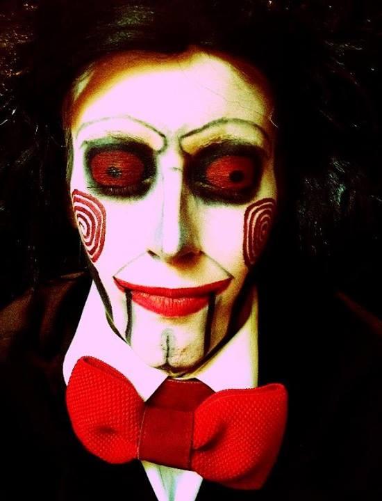 Grandes trasnformações da maquiagem artística 12