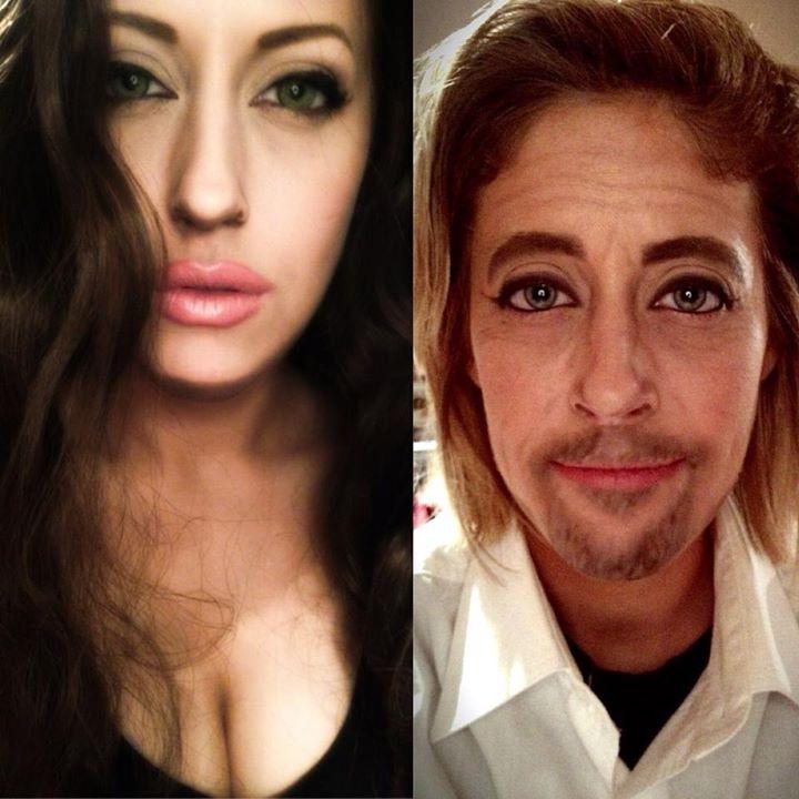 Grandes trasnformações da maquiagem artística 15