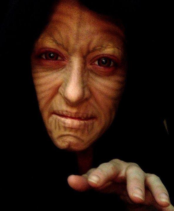 Grandes trasnformações da maquiagem artística 16