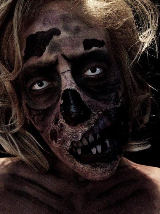 Grandes trasnformações da maquiagem artística 23