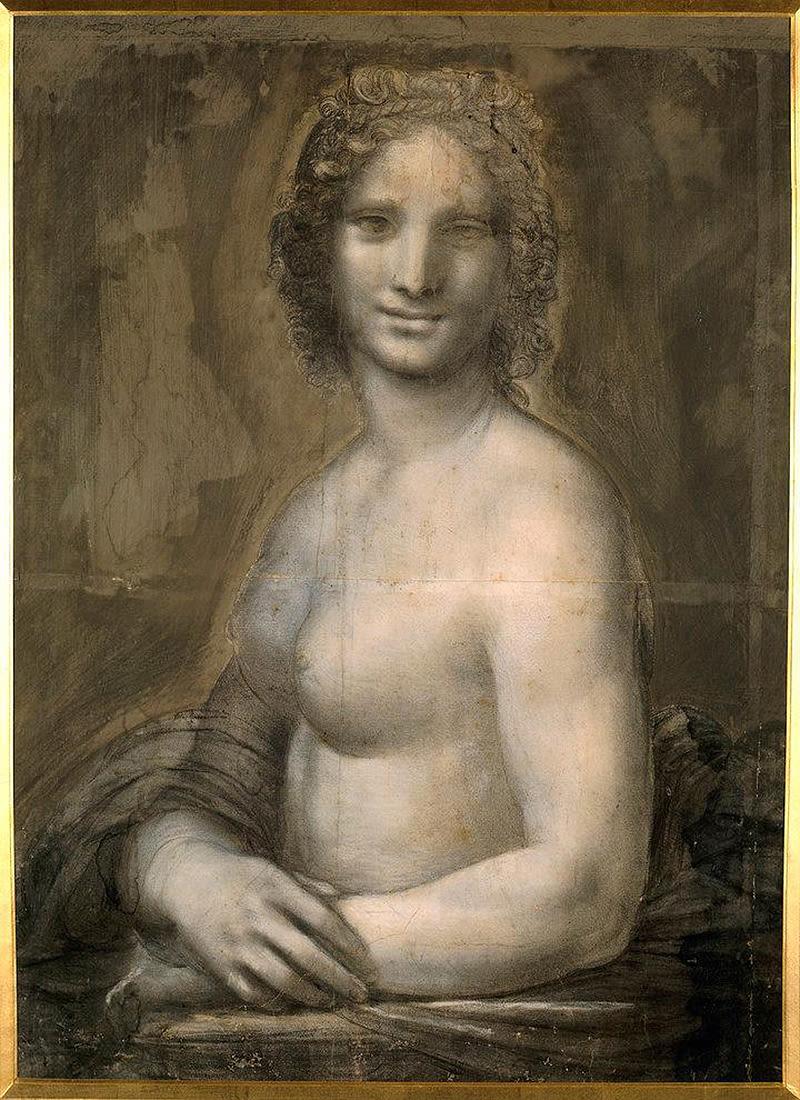 Este desenho de uma mulher nua pode ser o esboço perdido que Da Vinci usou para pintar a Mona Lisa