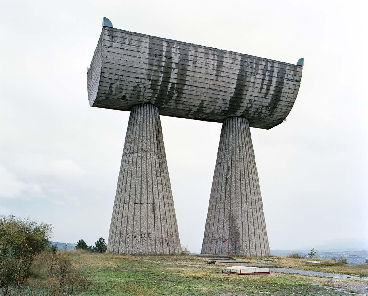 Estes monumentos iugoslavos parecem rel�quias de uma civiliza��o alien�gena 11