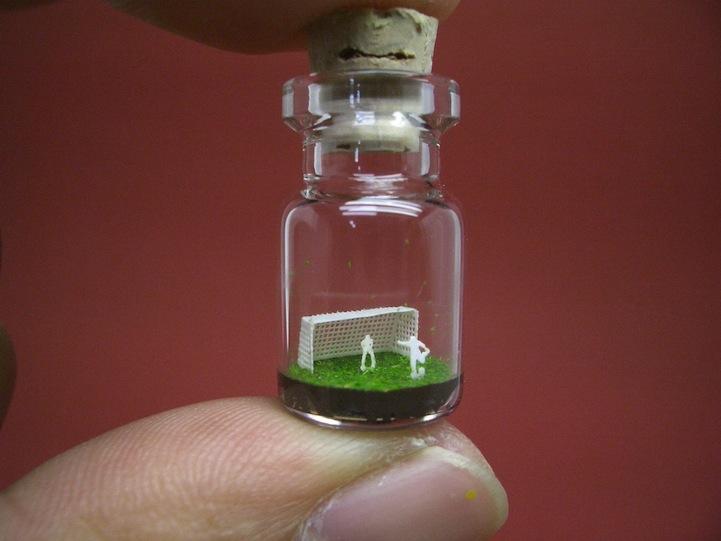 O mundo em miniatura dentro de uma garrafinha 05