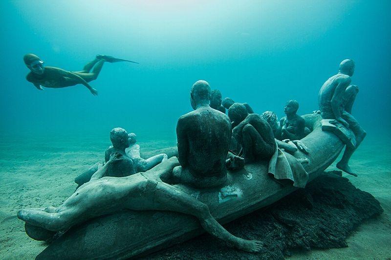 Primeiro museu de escultura subaquática da Europa 01