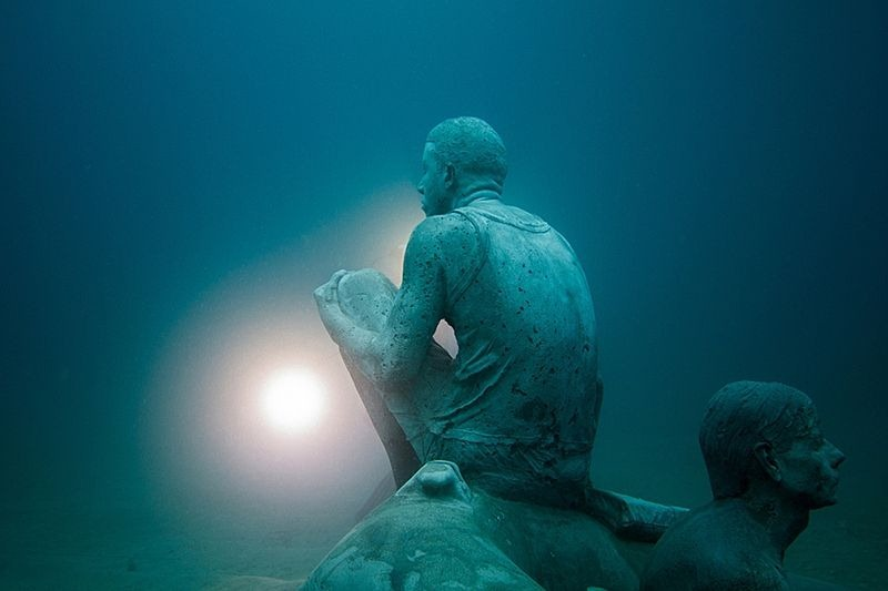 Primeiro museu de escultura subaquática da Europa 02