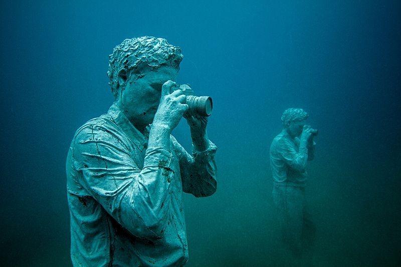 Primeiro museu de escultura subaquática da Europa 03