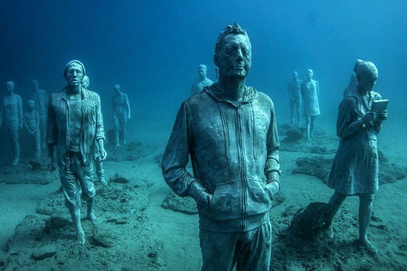 Primeiro museu de escultura subaquática da Europa 04