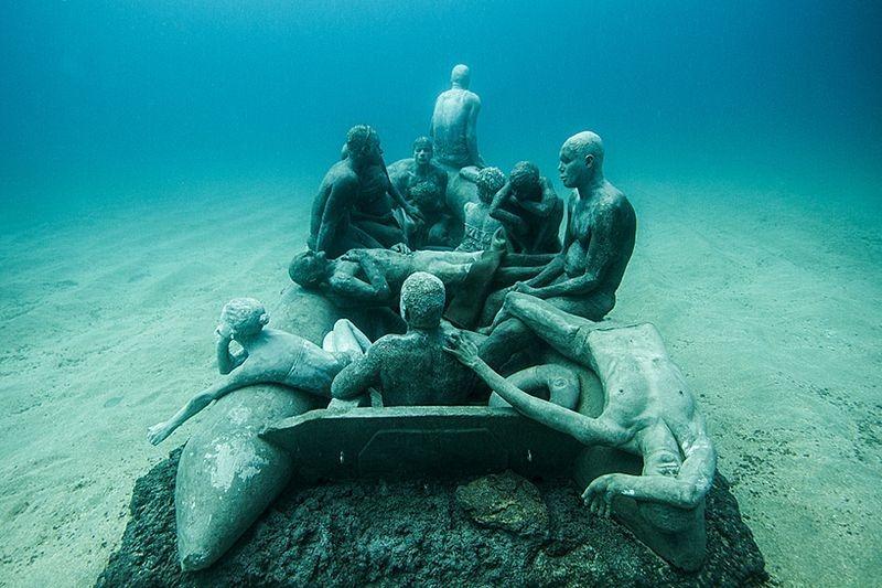 Primeiro museu de escultura subaquática da Europa 05