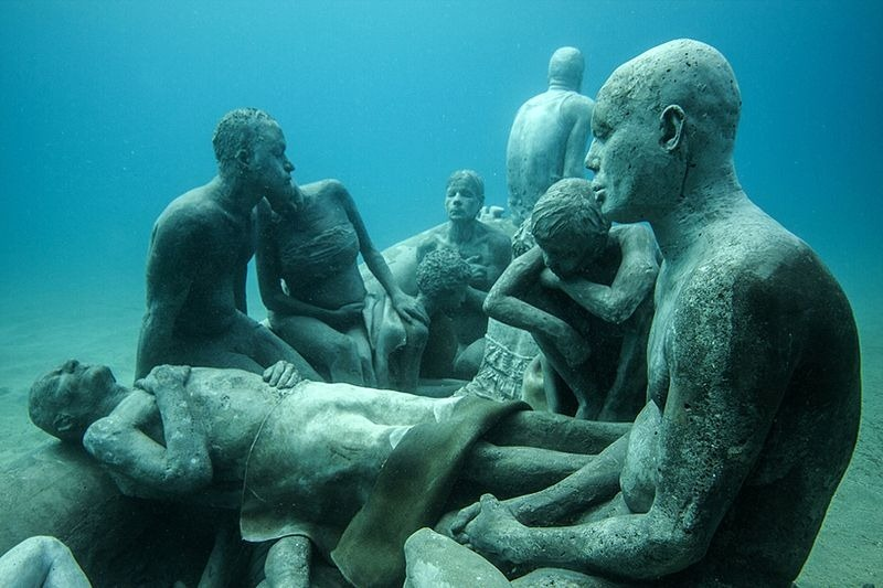 Primeiro museu de escultura subaquática da Europa 06