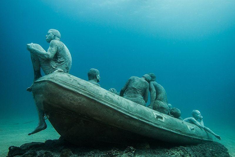 Primeiro museu de escultura subaquática da Europa 07