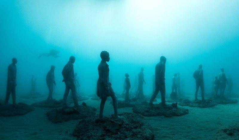 Primeiro museu de escultura subaquática da Europa 08