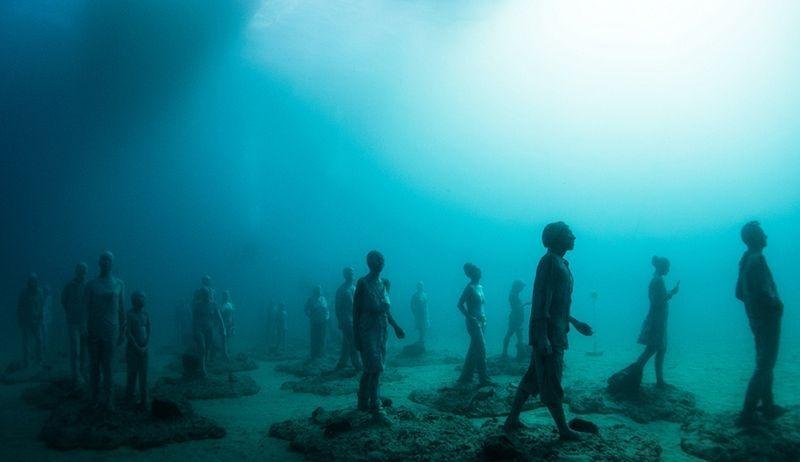 Primeiro museu de escultura subaquática da Europa 09